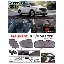 HONDA HRV 2014 - 2018 NINJA SHADES UV Proof Car Magnetic Sun Shades
