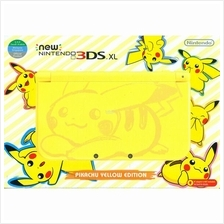 New Nintendo 3DS XL Limited Edition Pikachu CFW Luma