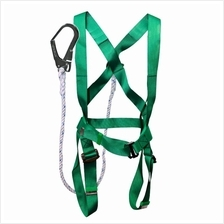 FULL BODY SAFETY HARNESS BUILT-IN LANYARD  & LARGE HOOK