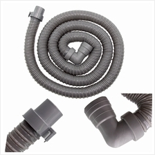 2 Meter Length Flexible Elbow Drain Hose For Washer Washing Machine