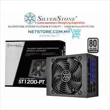 SILVERSTONE STRIDER PLATINUM ST1200-PT -  1200W 80 Plus ATX PC PSU