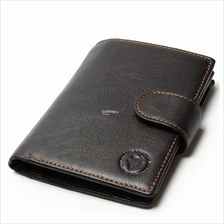 Men Genuine Cow Leather Vintage Wallet - Men Purse 1267