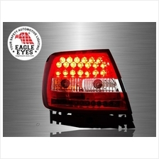 AUDI A4 B5 1994 - 2001 EAGLE EYES RED CLEAN LED Tail Lamp [TL-075]