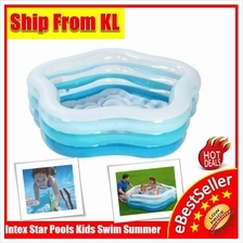 Swim Pool INTEX Summer Colors Swimming Kids Star Shape for Fun n Enjoy