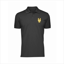 Iron Man 100% cotton Polo Shirt (3 Designs)