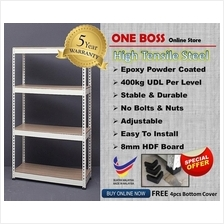 H6'xL6'xD1.5' BOLTLESS RACKING HOME WAREHOUSE STORE ROOM OFFICE FILE