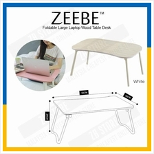 ZEEBE Foldable Laptop Picnic Table Notebook Large Bed Desk 40x60cm