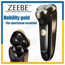 ZEEBE Floating Shaver Electric Razor Rechargeable 3 Head Shaver FS360