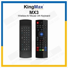 KingMax MX3 Portable 2.4G Wireless Remote Control Air Mouse Smart TV