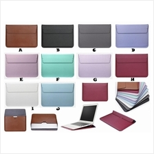 MacBook Pro 15 15.6 A1707 Envelope Sleeve Bag Leather Stand Case Cover
