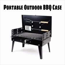 Portable BBQ Outdoor Camping Barbeque BBQ Grill Bag With Tools