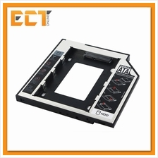 SATA Auminium Second HDD Caddy Replacement for 12.7mm Universal O/D