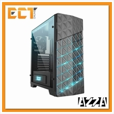 Azza Onyx 260 ATX Mid-Tower Gaming Casing/Chassis with RGB LED - Black