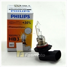 Philips 9005PRC1 HB3 Premium Vision 12V 60W P20d Single Filament Bulb