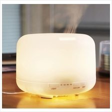 500ml: Large Volume Aroma Diffuser - White (UK plug)