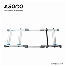 [CRONUS.MY] Alloy Bicycle Bike Cycling Roller Trainer Rack 1399348-BCS