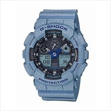 Casio G-Shock Denim Design GA-100DE-2ADR