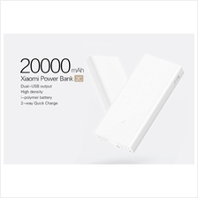 XiaoMi Mi Portable PowerBank 2 QuickCharge QC 3.0 20000mah Power Bank