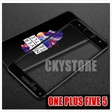 ONE PLUS FIVE 5 IMAK FULL Coverage Tempered Glass
