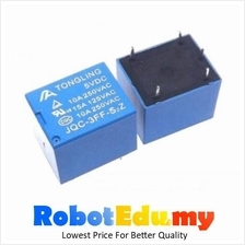 Electronic Component - SPDT 5V 5vDC 10A 30VDC 250VAC Relay SRD (5 pin)