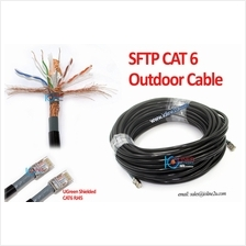 20m 30m 40m 50m 80m Outdoor Cat6 Cat 6 STP FTP LAN Network cable RJ45 Full Cop