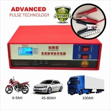 Enhanced Advanced Pulse Battery Charger for Car Motorcycle Lorry