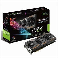 ASUS GEFORCE STRIX GTX 1070 O8G GAMING AURA RGB LIGHTING OC
