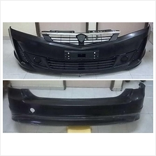 Exora Bold Front And Rear Bumper With Grille Chrome