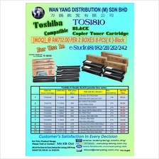 TOSHIBA TOS1810 COMPATIBLE BLACK COPIER TONER CARTRIDGES