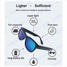 SOGEN Bone Conduction Stereo Sound Bluetooth Glasses Polarized Lens