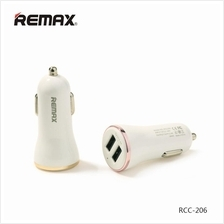 Remax 5V 2.4A 2 USB Car Charger Fast Charging For iPhone Samsung