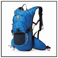 Blue Hawk Pentagram Outdoor Travel Backpack - Free Water Pouch