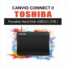 Toshiba CANVIO Connect II Portable External Hard Disk USB3.0 2TB