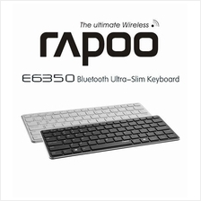 RAPOO E6350 Wireless Keyboard Multimedia Ultra Slim Mini Keyboard