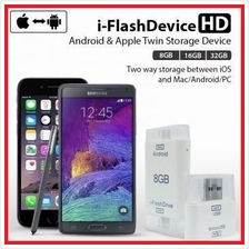 i-Flash Android and iOS OTG Lightning / Micro USB OTG Pendrive iflash