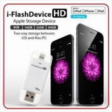 i-Flash iPhone iPad OTG Lightning USB Pendrive iflash iOS Storage USB