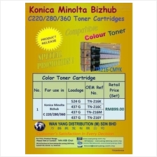 Konica Minolta Bizhub C220/280/360 Compatible Copier toner cartridge