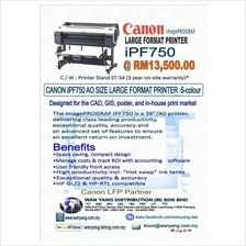 iPF750 Canon imagePROGRAF Large Format Printer