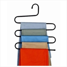 Set 4 Pieces: Zigzag Layer Multi - Hanger Clothes Organizer