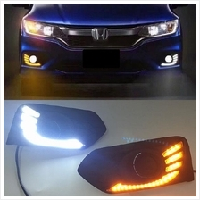 HONDA CITY GM6 2017 Eagle Wing Concept LED Fog Lamp Cover with Signal