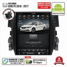 HONDA CIVIC FC 2016-17 12 ANDROID Double Din GPS Mirror Link Player