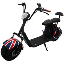 New Electric Harley Scooter With Bluetooth Speaker and Phone Charger