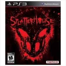 Original Brand New Sony PS3 Splatterhouse Blu-Ray R3
