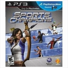 Original Brand New Sony PS3 Sports Champions Blu-Ray R3