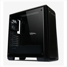 TECWARE EDGE TG TEMPERED GLASS ATX GAMING CASING (BLACK)