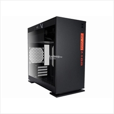 INWIN 301 MINI TOWER TEMPERED GLASS CHASSIS (BLACK)