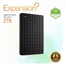 Seagate HDD 2TB Expansion Portable External Hard Disk Drive ORIGINAL