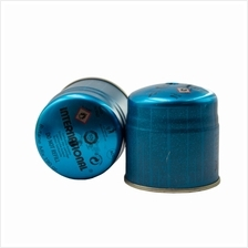 2 TIN International 190g Portable Camping Outdoor Butane Gas Cartridge
