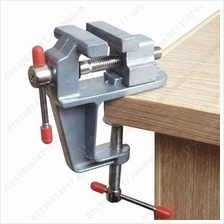 Small Mini Clamp Light Table Bench Vice Vise Soldering Holders 936