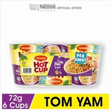 MAGGI Hot Cup Tom Yam 6 Cups, 72g Each)